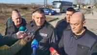 Гранична полиция: Няма мигрантски натиск към България
