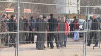 Учени от БАН протестират срещу заграден имот