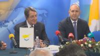 Президентите на България и Кипър откриха съвместен бизнес форум в София