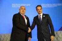 снимка 2 Борисов и министри обсъждат в Александруполис газовата връзка България-Гърция