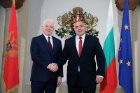 Борисов: Сътрудничеството ни с Черна гора спомага и при справяне с общите предизвикателства