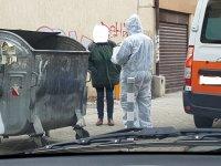 Екипи на столичната Спешна помощ - със специално облекло
