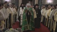 Патриарх Неофит отслужи благодарствен молебен по повод 150 години от учредяването на Българската екзархия