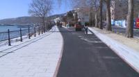 Ремонтират крайбрежната алея в Балчик
