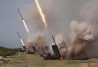 Северна Корея изстреля неидентифицирани снаряди