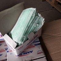 """Задържаха над 26 000 медицински маски и над 17 000 опаковки антибактериален гел на """"Капитан Андреево"""""""