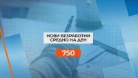 1351 души са се регистрирали като безработни само за ден