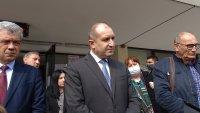 Президентът Радев си е направил тест за коронавирус, отрицателен е