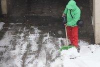 Първоаприлски сняг