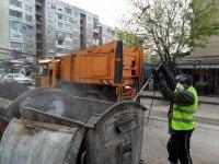 Започва повторна дезинфекция на контейнерите за боклук в Пловдив