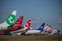 Безпрецедентна криза в авиоиндустрията заради COVID-19