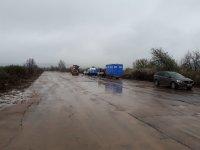 """снимка 3 Дезинфекцират участък от АМ """"Марица"""" преди границата с Турция"""