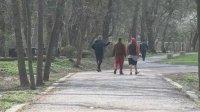 Съставиха 4 акта в София за неспазване на забраната за разходка в парковете