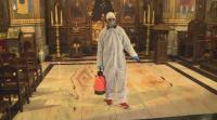 Във Варна започна дезинфекцията на храмовете преди Цветница