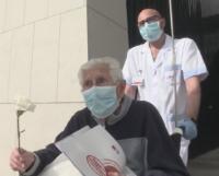 96-годишен испанец победи COVID-19