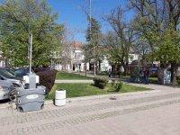 Мобилни мивки с дезинфектант на ключови места в Русе