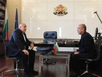 Министър-председателят Бойко Борисов се срещна с доц. Атанас Мангъров