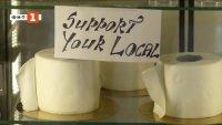 Новост в сладкарството: Торти - тоалетна хартия и великденски яйца - коронавирус