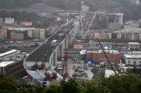 Положиха последна секция на новия мост в Генуа
