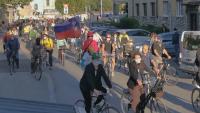 Пореден антиправителствен протест в Любляна