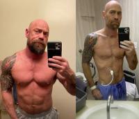COVID-19 стопи планина от мускули: Културист шокира със снимка след 6 седмици на вентилация