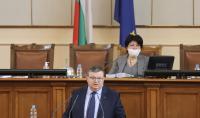 Сотир Цацаров в НС: Справянето с корупцията не е работа само на една комисия