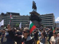 """снимка 4 Протест на Мая Манолова и """"Системата ни убива"""" срещу управляващите"""
