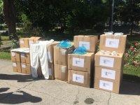България дари защитни облекла срещу коронавируса на Република Северна Македония и Албания