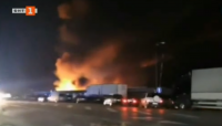 Огнеборците започват да овладяват пожара на борсата край Петрич