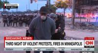 Репортер на CNN беше арестуван на живо в ефир по време на протестите в Минеаполис (ВИДЕО)