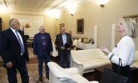 Премиерът Борисов проведе среща с представители на Българско конгресно бюро
